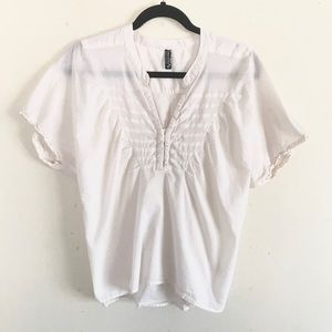 Free People Cotton Tie-Back Top